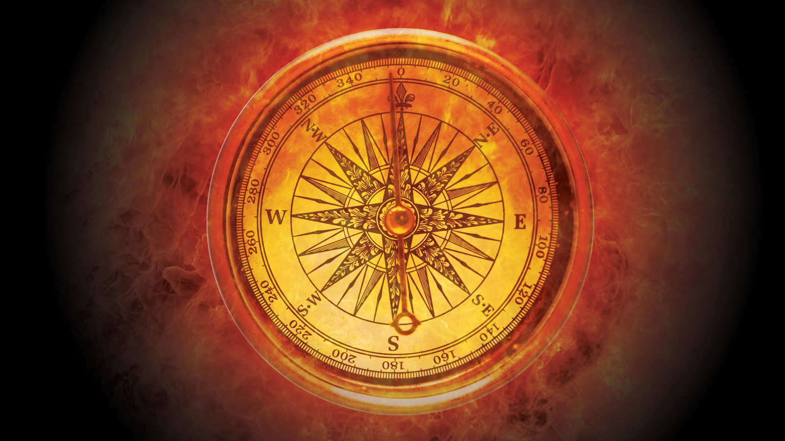 Using your compass, make note of the four cardinal directions: East ...